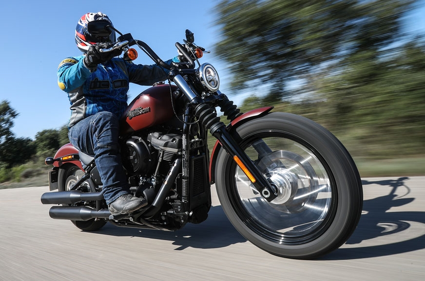 Harley Davidson Test Drive India
