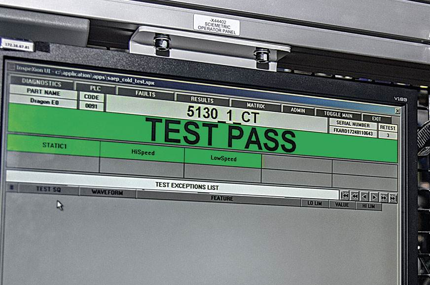 TEST PASS I can't believe it ran; it even passed the hot ...