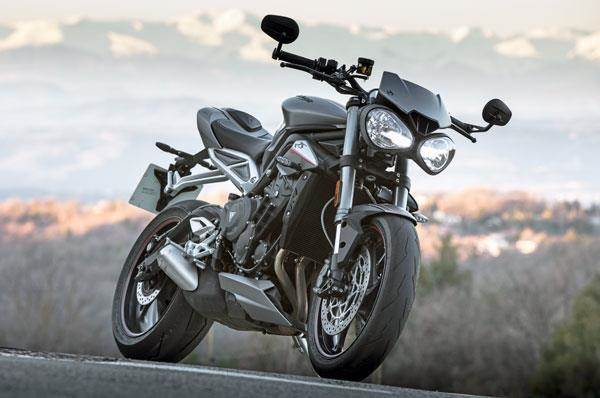 triumph street triple 765 rs to launch in the next few days autocar india. Black Bedroom Furniture Sets. Home Design Ideas