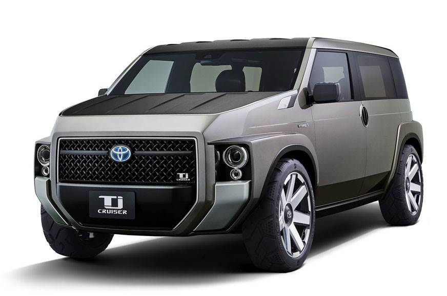 2018 Toyota Tj Cruiser unveiled before Tokyo Motor Show