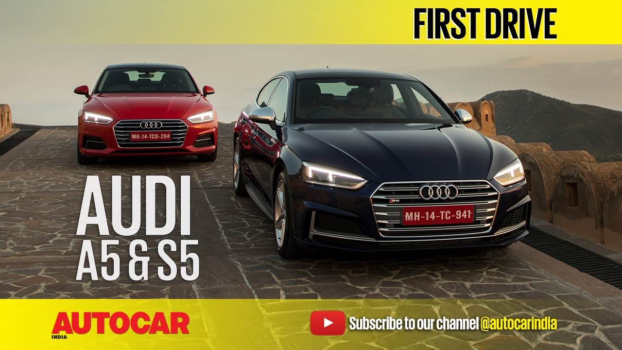 2017 Audi A5, S5 Sportback video review