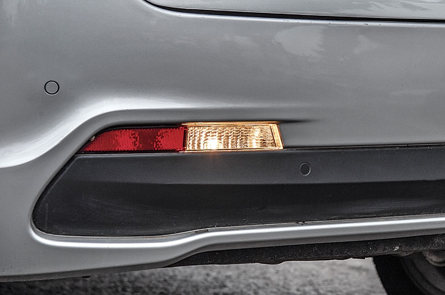 MORE LIGHT PLEASE: Single reverse lamp makes it difficult...