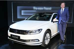 2017 Volkswagen Passat launched at Rs 29.99 lakh