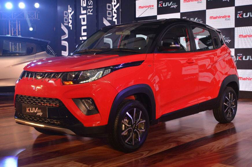 2018 Mahindra KUV100 NXT launch, pricing, equipment info, engine details and more - Autocar India