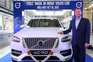 Volvo begins assembly operations in India with XC90
