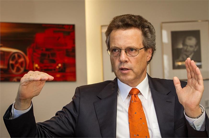 Bentley CEO Wolfgang Dürheimer.