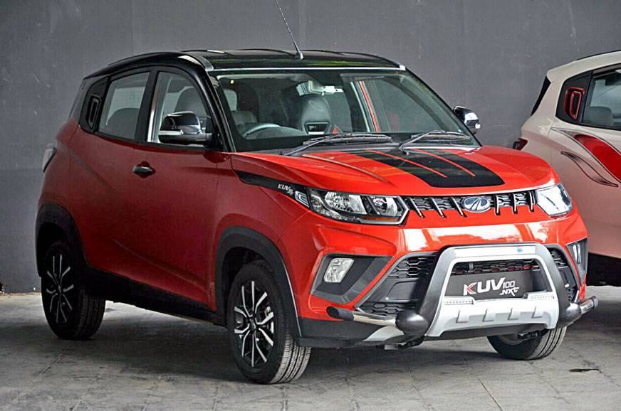 Mahindra has recently launched the KUV100 NXT at Rs 4.39 lakh