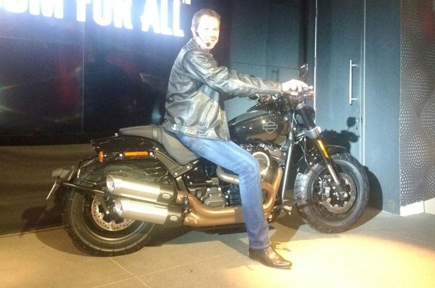 Harley-Davidson Fat Bob.