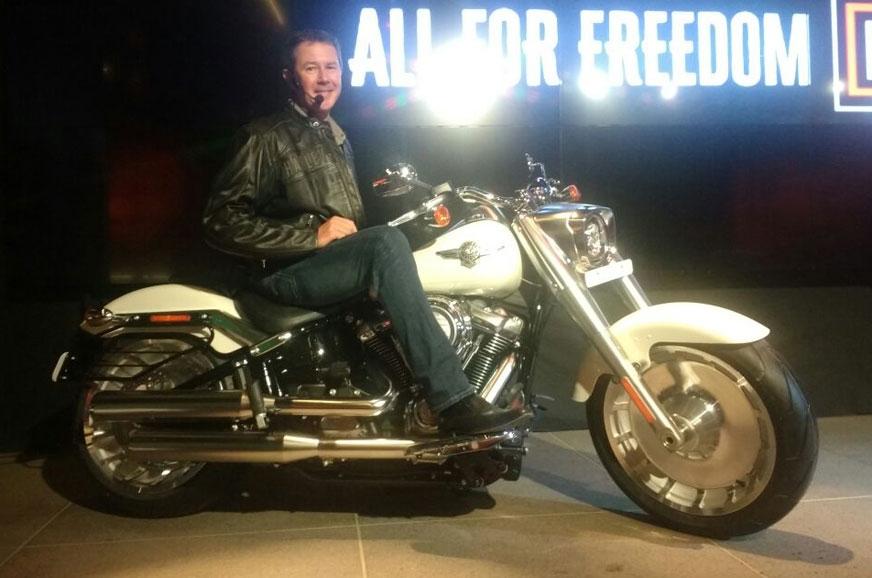 Harley-Davidson Fat Boy.