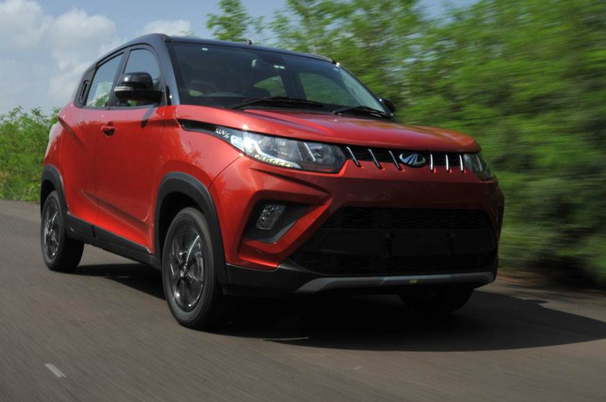 2017 Mahindra KUV100 NXT review, test drive
