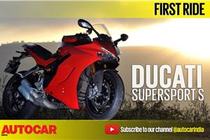 2017 Ducati SuperSport S video review