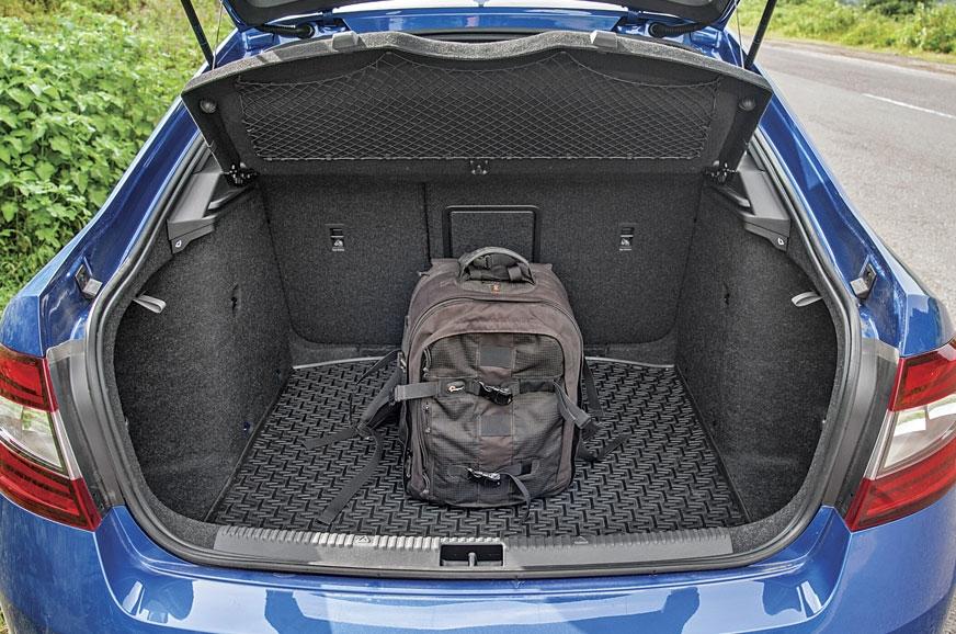 Massive 590-litre liftback boot remains the Octavia's str...