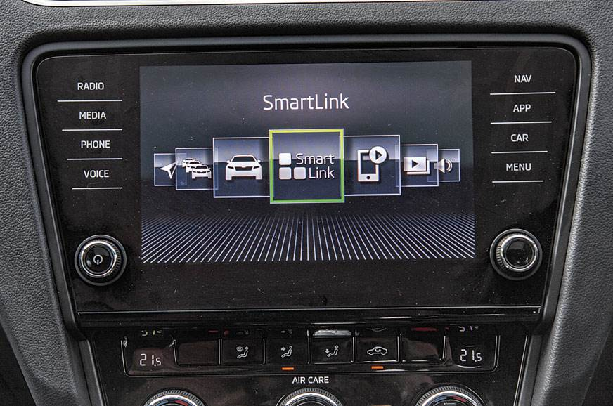 Slick 8.0-inch touchscreen loaded with features like smar...