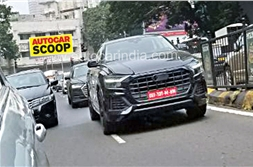 SCOOP! 2018 Audi Q8 spied in India