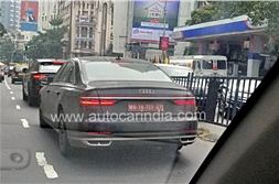 All-new Audi A8L spied in India