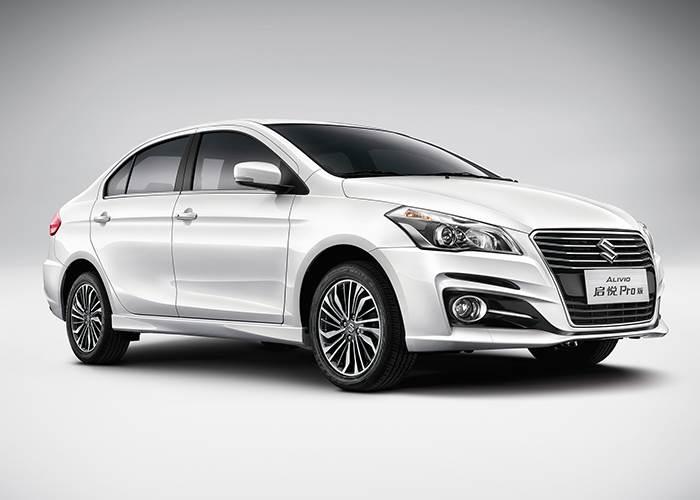 Suzuki Alivio (Maruti Ciaz) facelift revealed