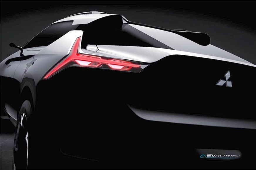 Mitsubishi e-Evolution concept SUV.