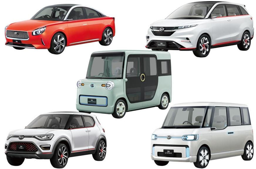 The Daihatsu range coming to the 2017 Tokyo motor show.