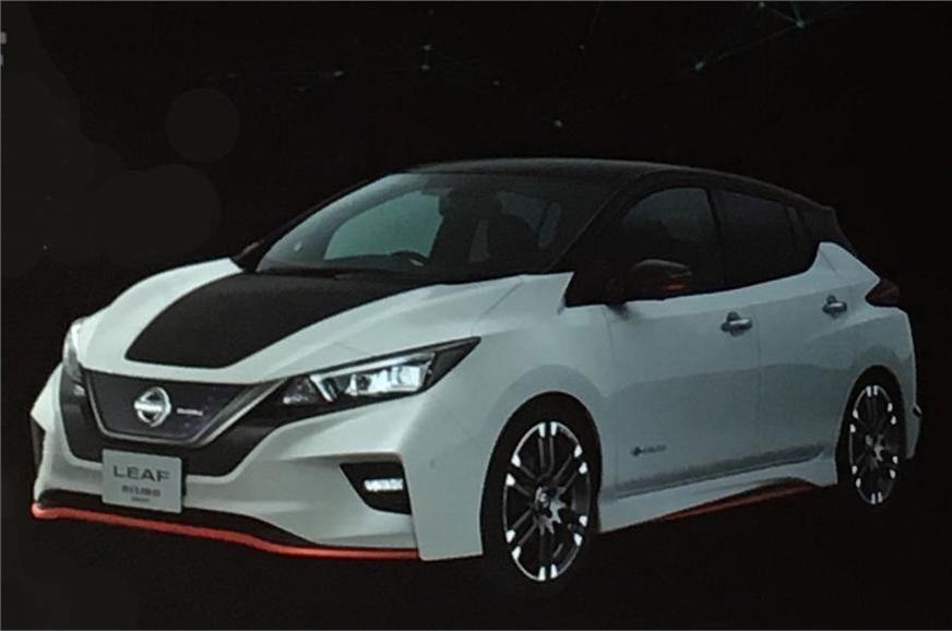 Nissan Leaf Nismo concept.