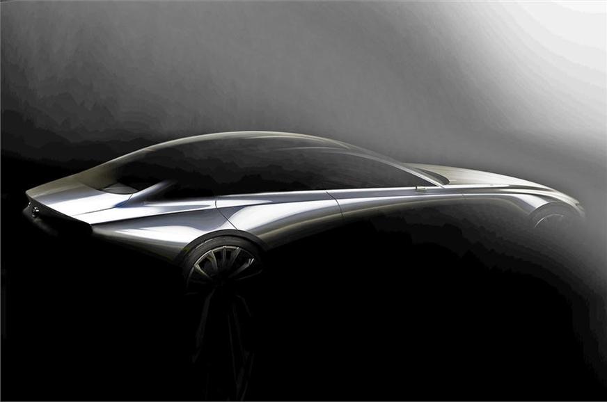 Mazda 'design vision model'.