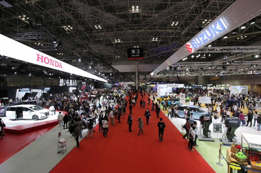 The 2015 Tokyo motor show.