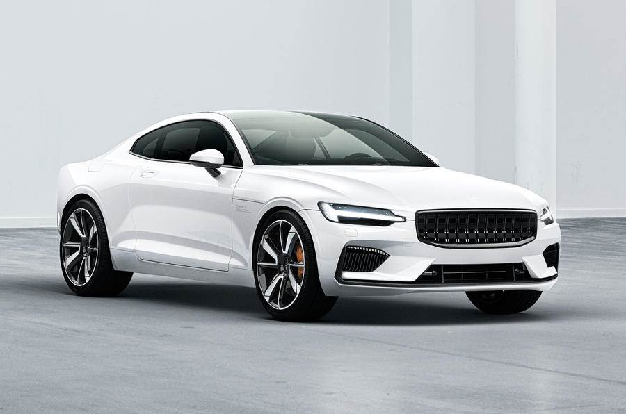 Polestar 1 coupe unveiled with a hybrid powertrain