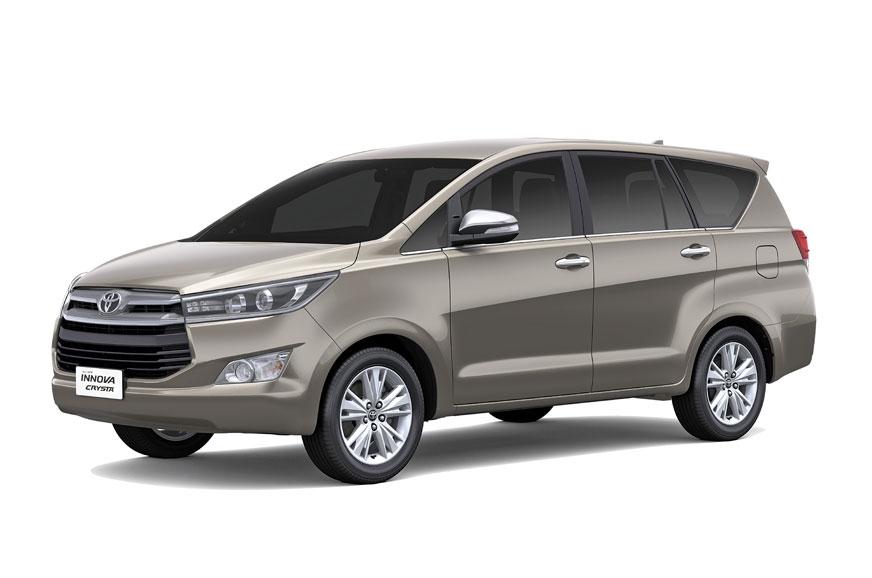 Toyota Innova Crysta.
