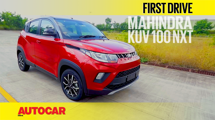 2017 Mahindra KUV100 NXT video review