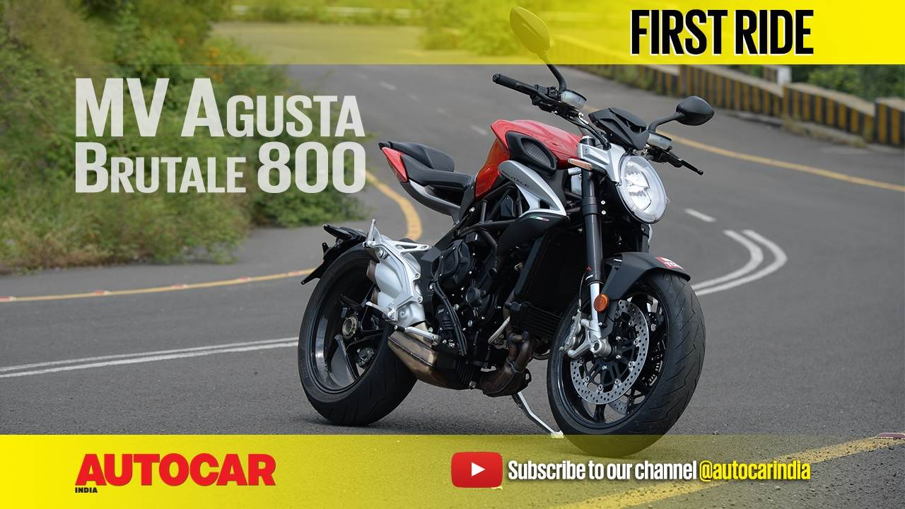 2017 MV Agusta Brutale 800 India video review