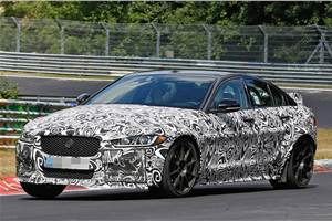 Jaguar targets Nürburgring record with XE SV Project 8