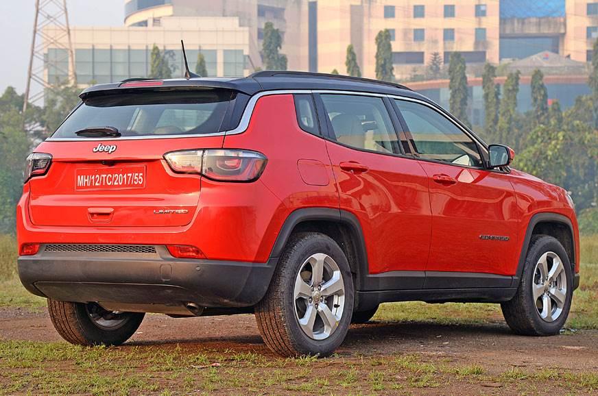 2017 jeep compass petrol review test drive autocar india. Black Bedroom Furniture Sets. Home Design Ideas