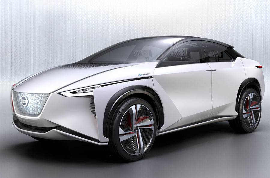 Nissan IMx concept previews the 2019 Leaf SUV