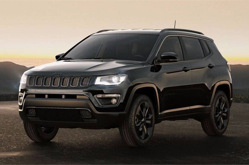 jeep compass night eagle edition revealed no news on india launch autocar india. Black Bedroom Furniture Sets. Home Design Ideas