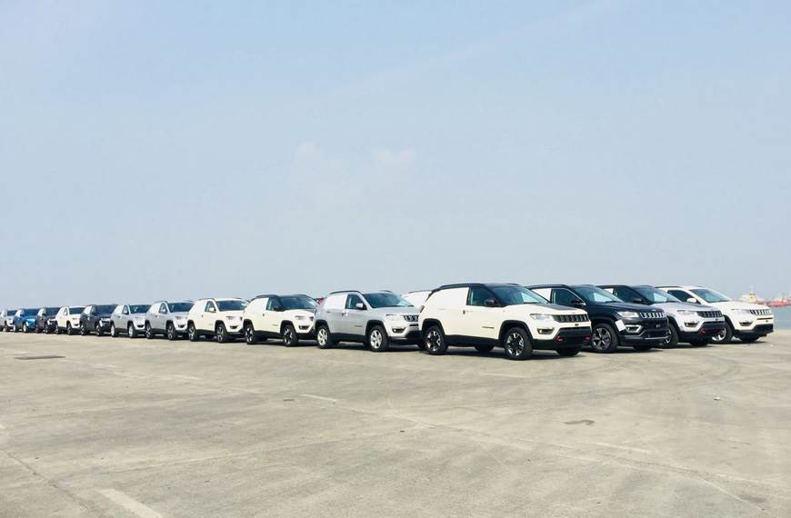Made-in-India Jeep Compass exports begin