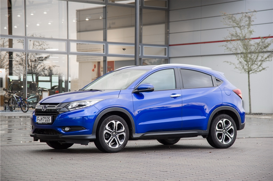 The Honda HR-V will launch in 2019.