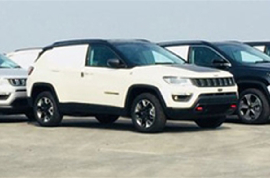Right-hand drive Jeep Compass Trailhawk being exported to...