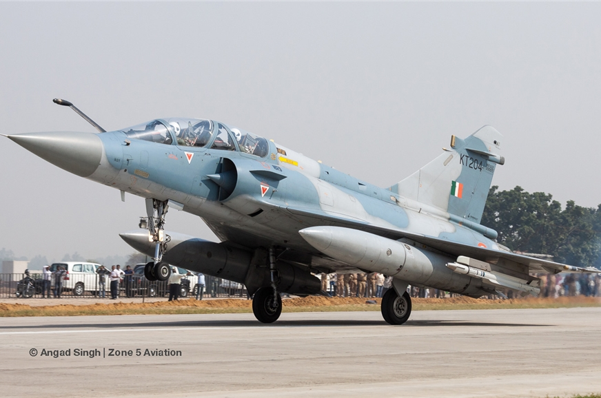 Indian Air Force Mirage 2000TI.