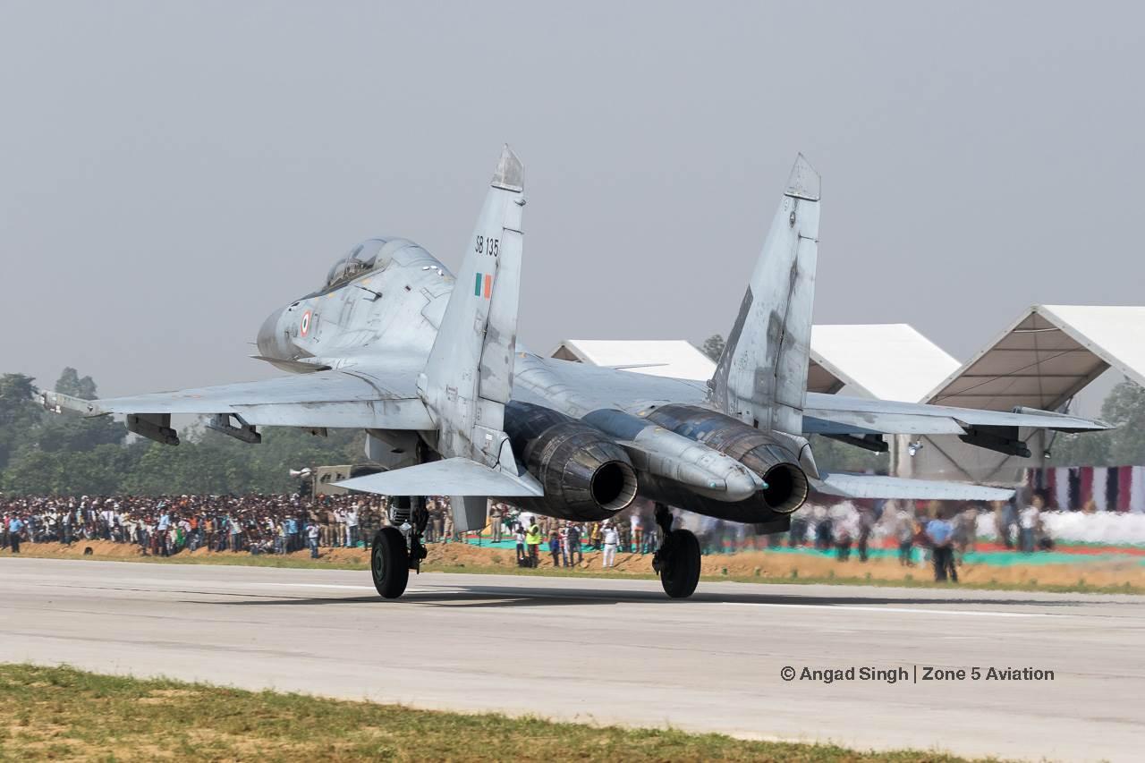 Indian Air Force Sukhoi Su-30MKI.