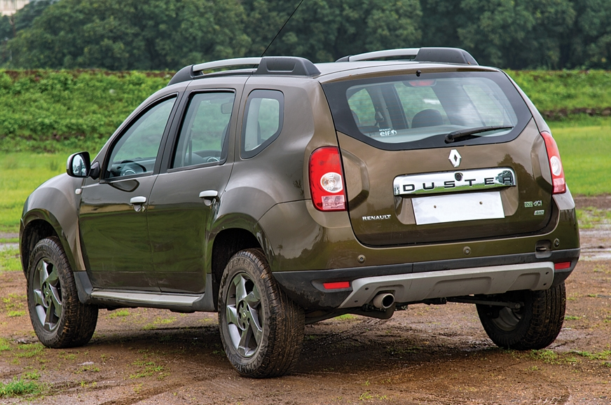 Ground clearance of 205mm further strengthens the Duster'...
