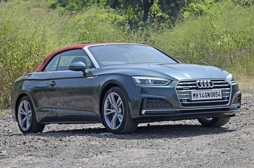 2017 audi a5 cabriolet tdi quattro india review test. Black Bedroom Furniture Sets. Home Design Ideas