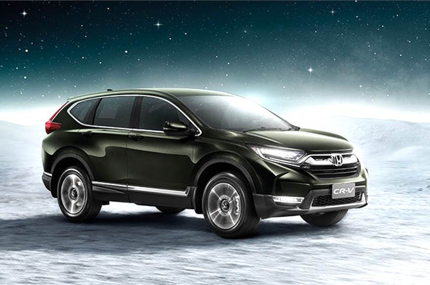The new seven-seat CR-V will come to India next year.