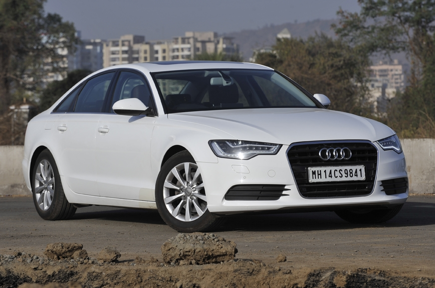 Engine options on the Audi A6 sedan include a 190hp 1.8-l...