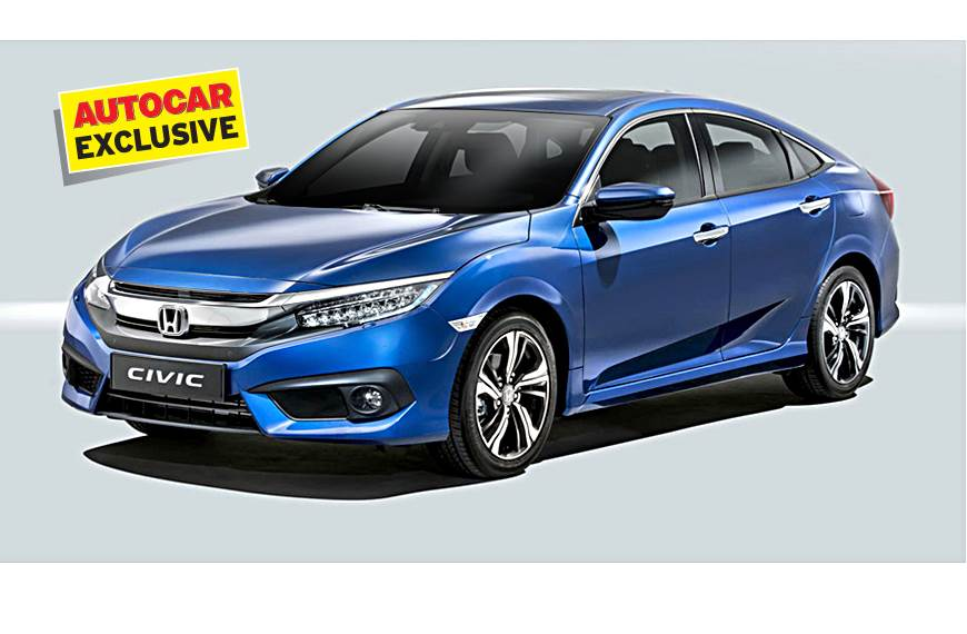 exclusive honda civic facelift is coming to india in 2019 autocar india. Black Bedroom Furniture Sets. Home Design Ideas