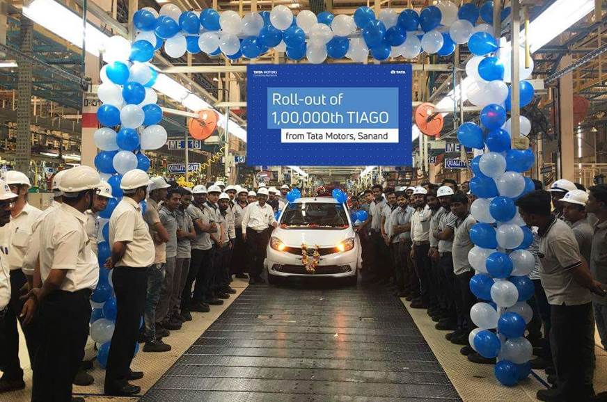 Tata rolls out 1,00,000th Tiago
