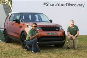 2017 Land Rover Discovery launched at Rs 71.38 lakh