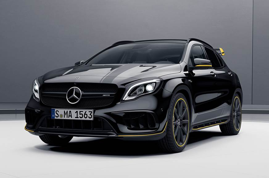 Mercedes-AMG CLA 45, GLA 45 facelifts launch on November 7
