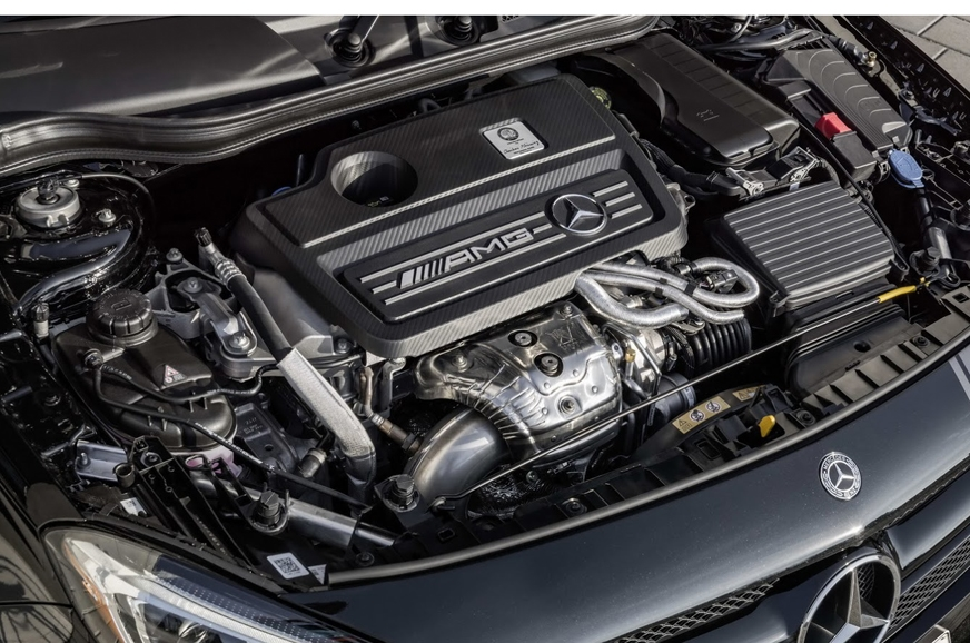 The 381hp, 2.0-litre turbo-petrol engine is shared betwee...