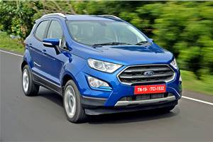 2017 Ford EcoSport facelift review, test drive