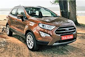 Ford EcoSport facelift price, variants explained