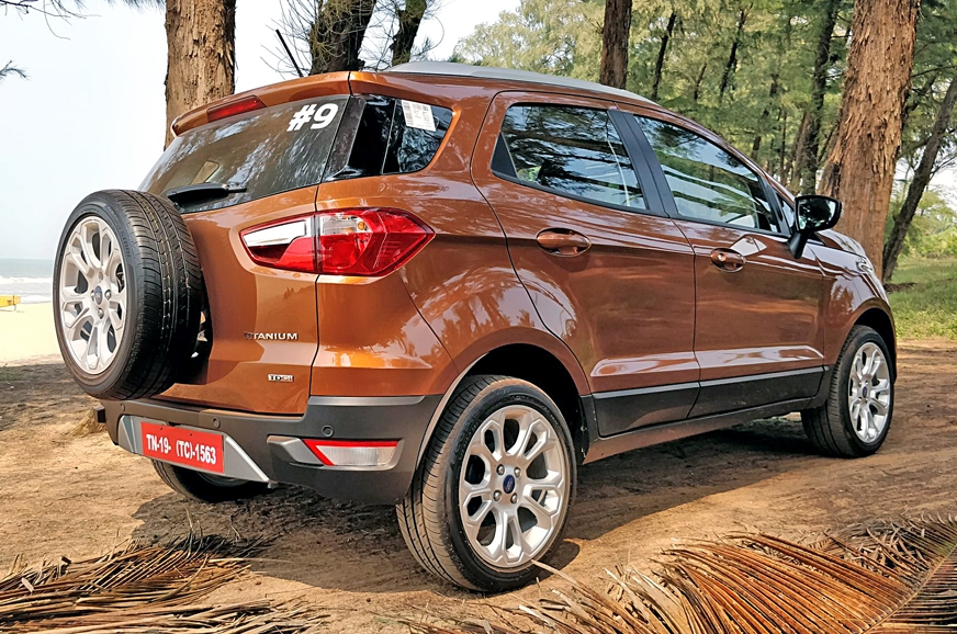 2017 ford ecosport price variants explained autocar india autocar india. Black Bedroom Furniture Sets. Home Design Ideas